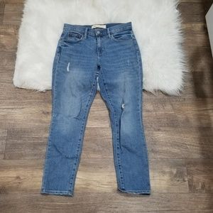 Gap Best Girlfriend Crop Jeans